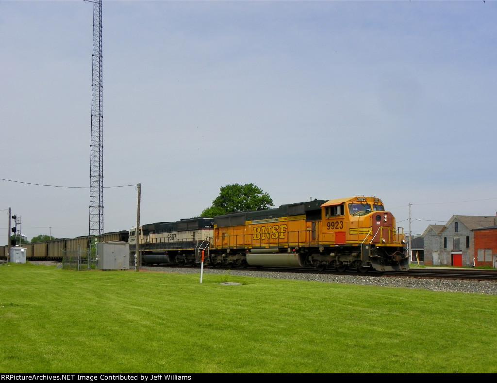 BNSF Coal Train