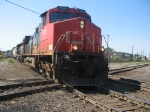 CN 2586 heads east