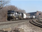 NS 9407 & 6632 roll west with 35J
