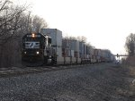 NS 6591 heads east solo with 20N