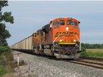 BNSF 9290 leads N859-22 through rural Indiana