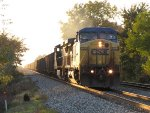 CSX 9034 & 9026 charge east with E490