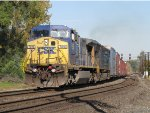 CSX 7816 & 4745 bring Q241 down the C&O before turning west