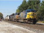 The hottest train on the railroad today, Q010-08 races east