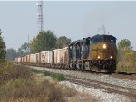 Just off the Columbus Sub, CSX 5218 leads K925-07 east