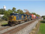 Led by CSX 857 & 4595, L163 heads west for Chicago