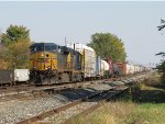 Q387 heads west between East Fostoria and F Tower