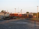 EJE 669 trails CN and CSX units as K684 heads east with ethanol loads from Iowa