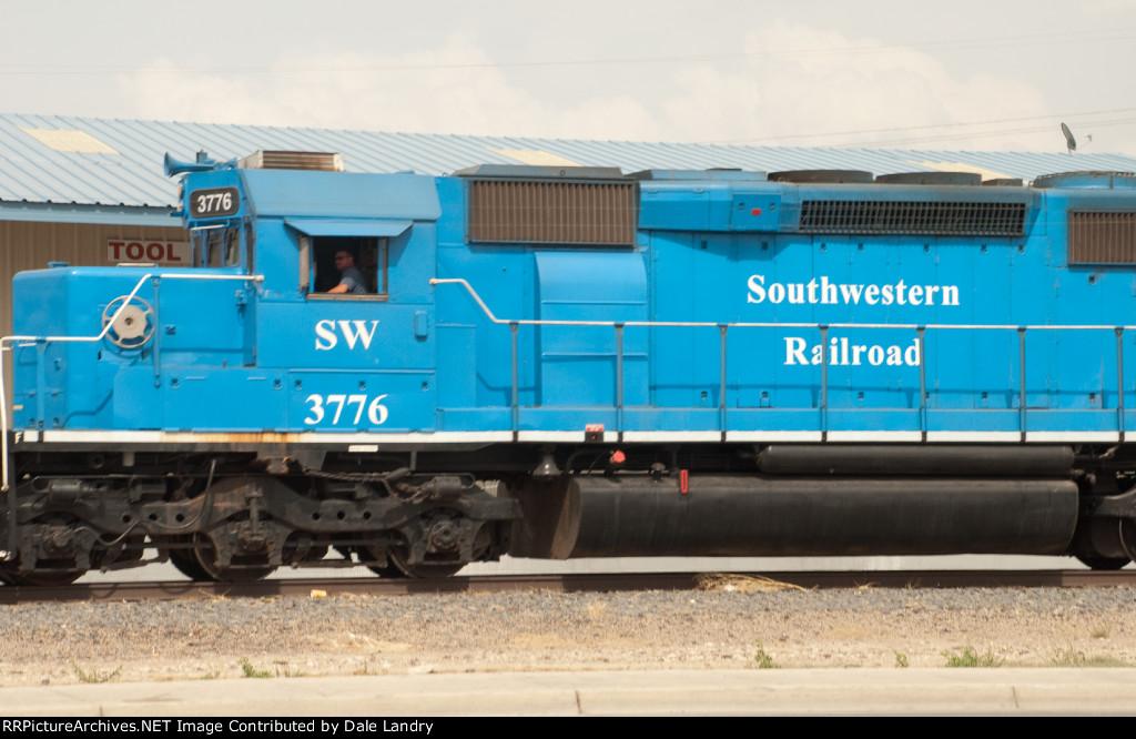 Southwestern Railroad SW 3776
