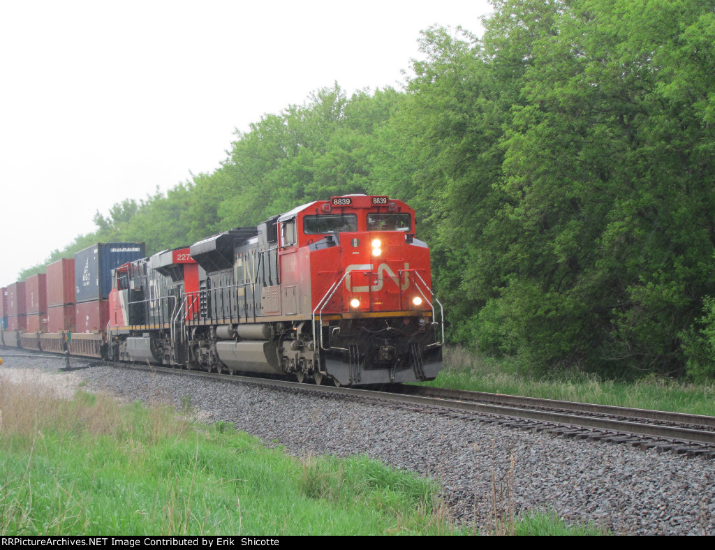 Southbound CN