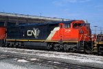 CN 2450, GE C40-8M, at the BRC Clearing Yard