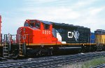 CN 5320, EMD SD40-2W at the BRC Clearing Yard