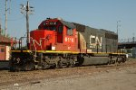 CN 6110, EMD SD40-2, at the ex IC-CCP Yard