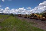 BNSF work train