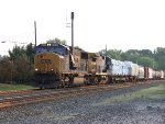 CSX #4513 Leading A Mixed Freight