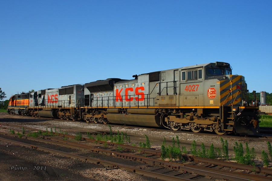 BNSF and KCS Locomotives