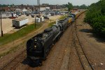 Southbound UP 844 - UP 1982 and The Little Rock Express Train