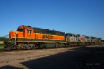 BNSF and KCS Locomotives