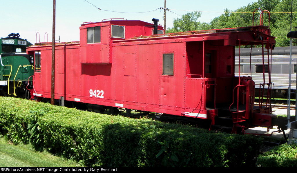 French Lick West Baden & Southern Rwy Caboose 9422 (Indiana Railway Museum)