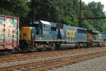 CSX 8511 trails on Q439-21