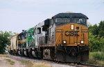 Eastbound CSX Freight