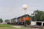 NREX 8096 and ICE 6403 Help Loaded Ethanol Train CITX 3095 to the West Siding Switch