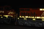 The rear end of BNSF 6711 and the front end of BNSF 6710 as they light up their Brand New BNSF Swoosh Logo Paint Jobs.