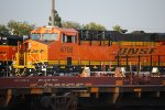 Last shot of BNSF 6708 as the late evening Sun hits her BNSF Swoosh Logo Paint.