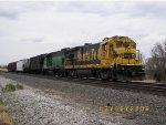 BNSF B32-7 4257