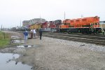 the display for railroad days