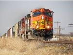 BNSF C44-9W 4698