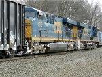CSXT GE ES40DC's 5480 & 5415