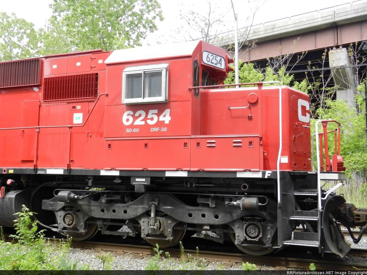 CP EMD SD60 6254
