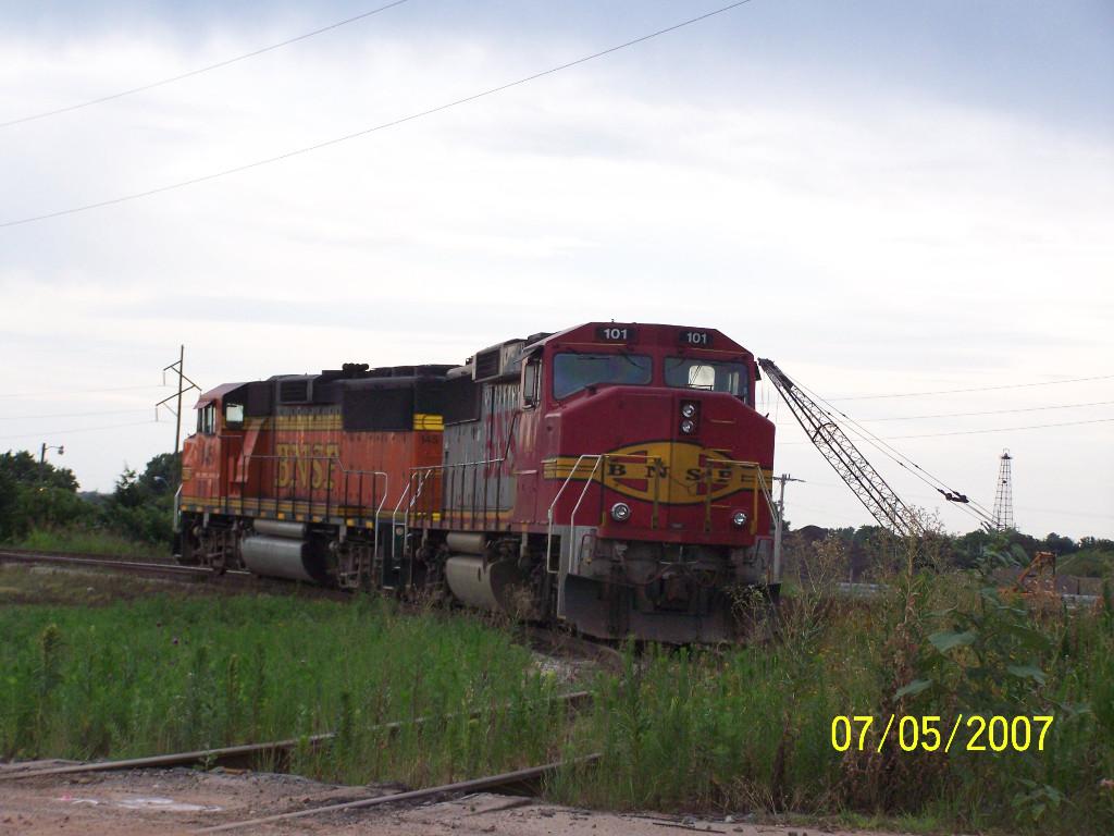 BNSF GP60M 101