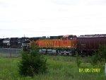 BNSF C44-9W 5299