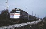 Amtrak test train
