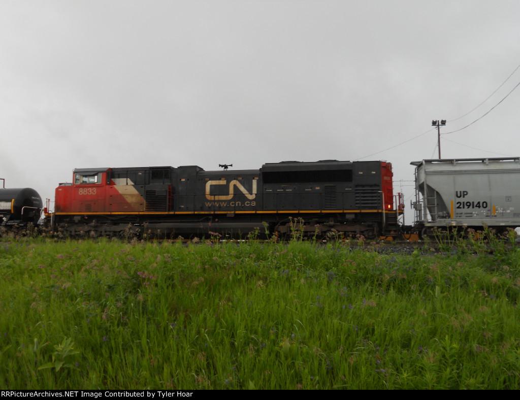 CN 8833 DPU duty