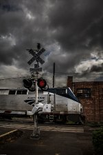 Amtrak 136 @ High Street Crossing