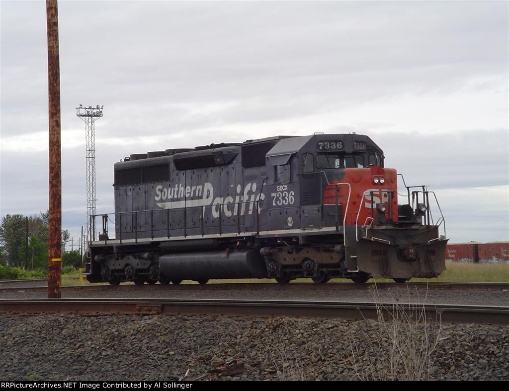 Last of the SP? SP 7336 yet to be renumbered in 2005
