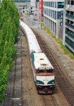 SB Amtrak in Seattle