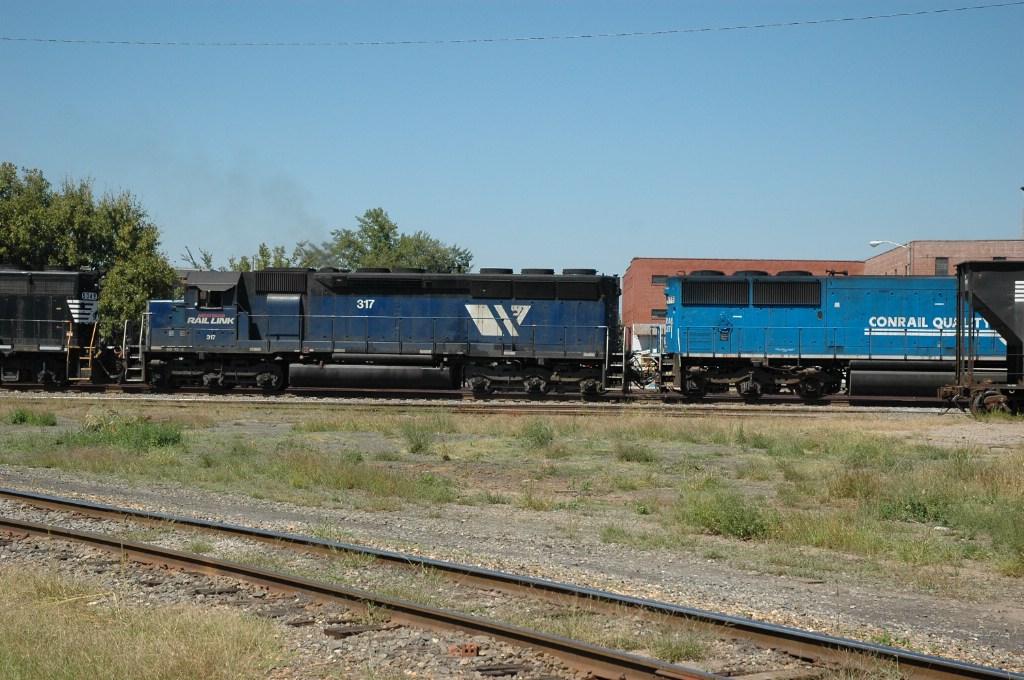 MRL SD45 on 134