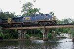 CSX 5426 crossing the Ochlocknee River