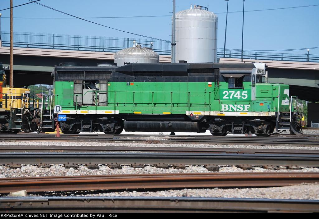 BNSF 2745 Gen Check