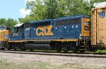 CSX 6053 on SB freight