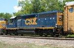 CSX 6053 on SB freight