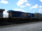 CSX 5223 lookin all shiny and new EB