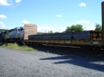 EB Manifest Train with steel going to the new Destiny USA