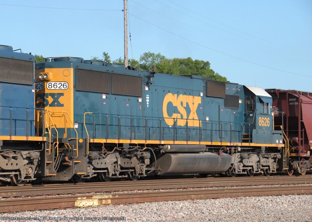 CSXT 8626
