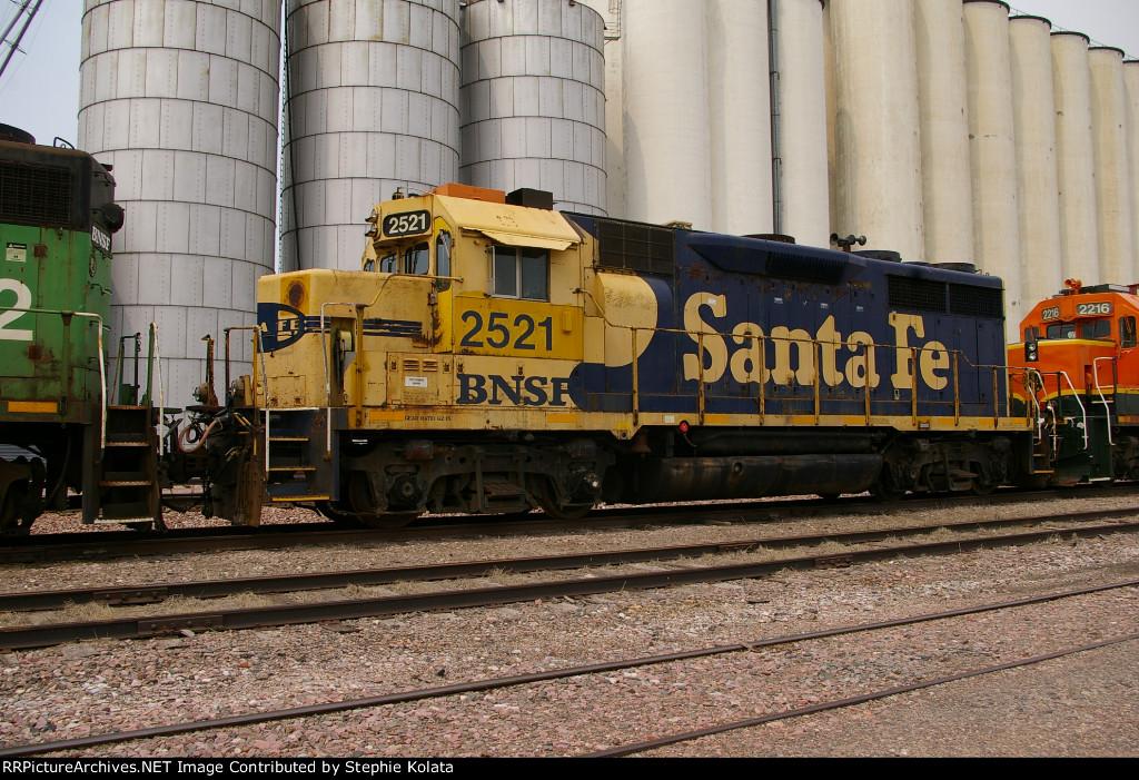 BNSF 2521