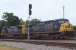 CSX 155 at Selma